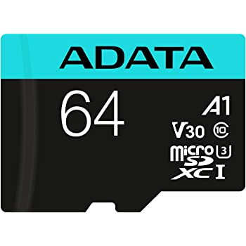 A-DATA V30 A1 64GB Class 10 UHS-3 Micro SD Memory Card