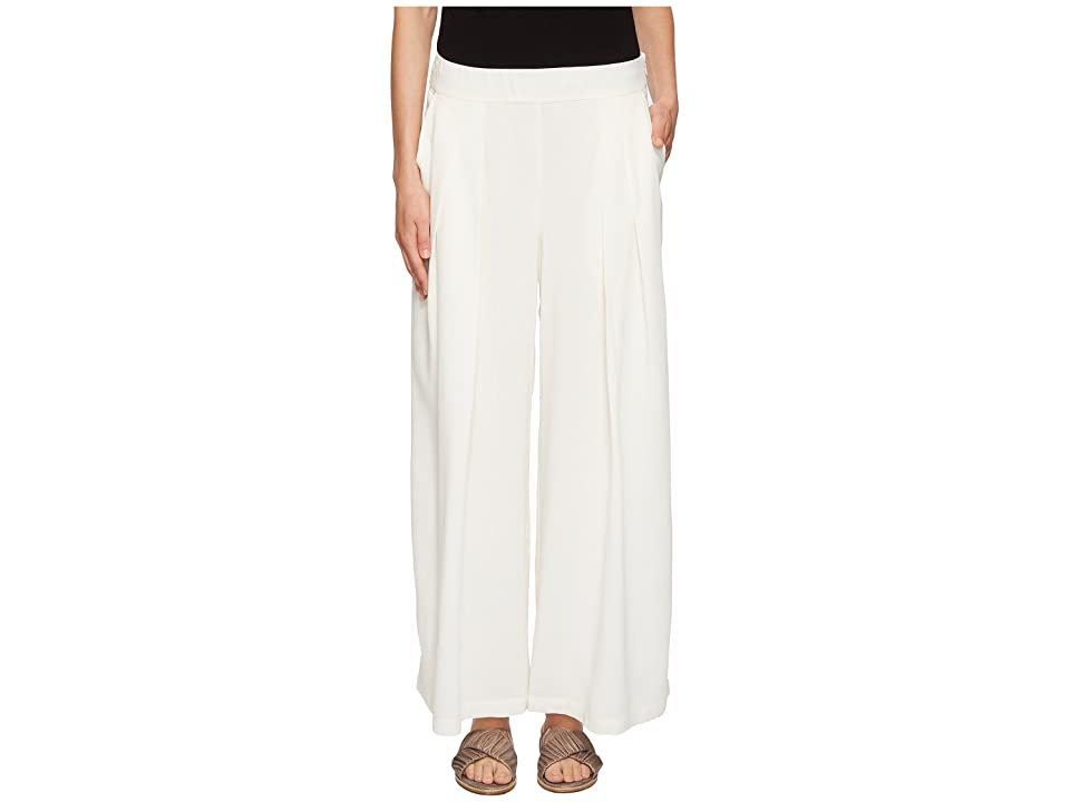Eileen Fisher Wide Leg Pants (White) Women