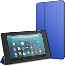 JETech Case for Amazon Fire 7 Tablet (7th Generation 2017 Release Only) Smart Cover with Auto Sleep/Wake (Blue)
