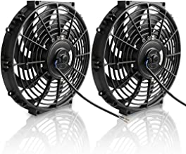 electric radiator fan with shroud