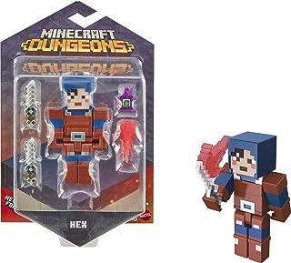 Minecraft GNC25 Dungeons 3.25' HEX Figure, Multi-Colour