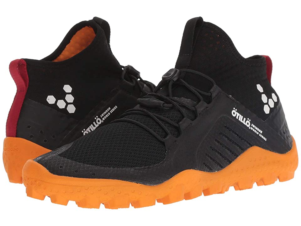 Vivobarefoot Primus Swimrun Boot Soft Ground Mesh (Black/Orange) Women