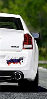 15cm! Aufkleber Folie Wetterfest Made IN Germany Russland Russia UV&Waschanlagenfest Auto Sticker Decal Staats Flagge Fahne Wappen Profi Qualität bunt farbig Digital Schnitt!
