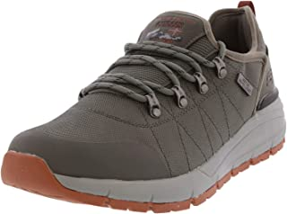 Skechers Men's Volero - Dalven Charcoal Ankle-High Mesh Hiking Shoe 10M