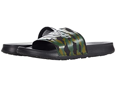 Speedo Deck Slide (Black/Camo Green) Shoes