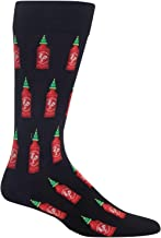 Hot Sox Hot Sauce Crew Socks, 1 Pair, Men's 6-12.5 Shoe