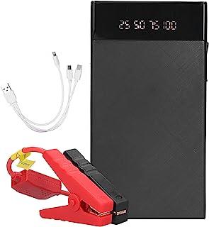 FOKH Arranque de bateria de carro, pico de 400 A, 10.000 mAh, 12 V, acionador portátil para carro com tela digital, proteç...