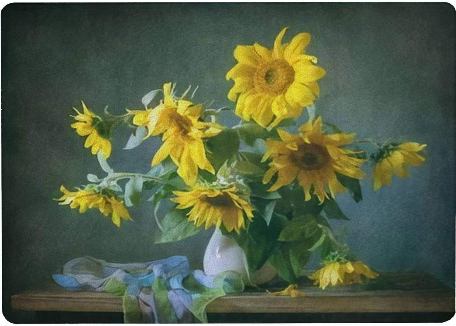 Tempered Glass Cutting Board Still life sh Popular popular a Super popular specialty store with sunflowers and