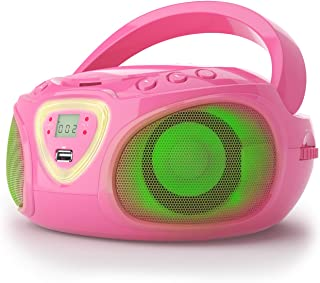 Auna Roadie – Radio-CD , Chaîne stéréo , Boombox , Lecteur CD , Port USB , MP3 ,..