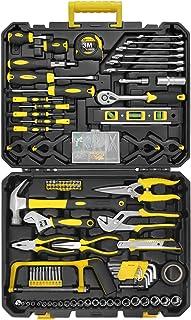 199 Pcs Home Repair Tool Kit Mechanics & Household Tool...