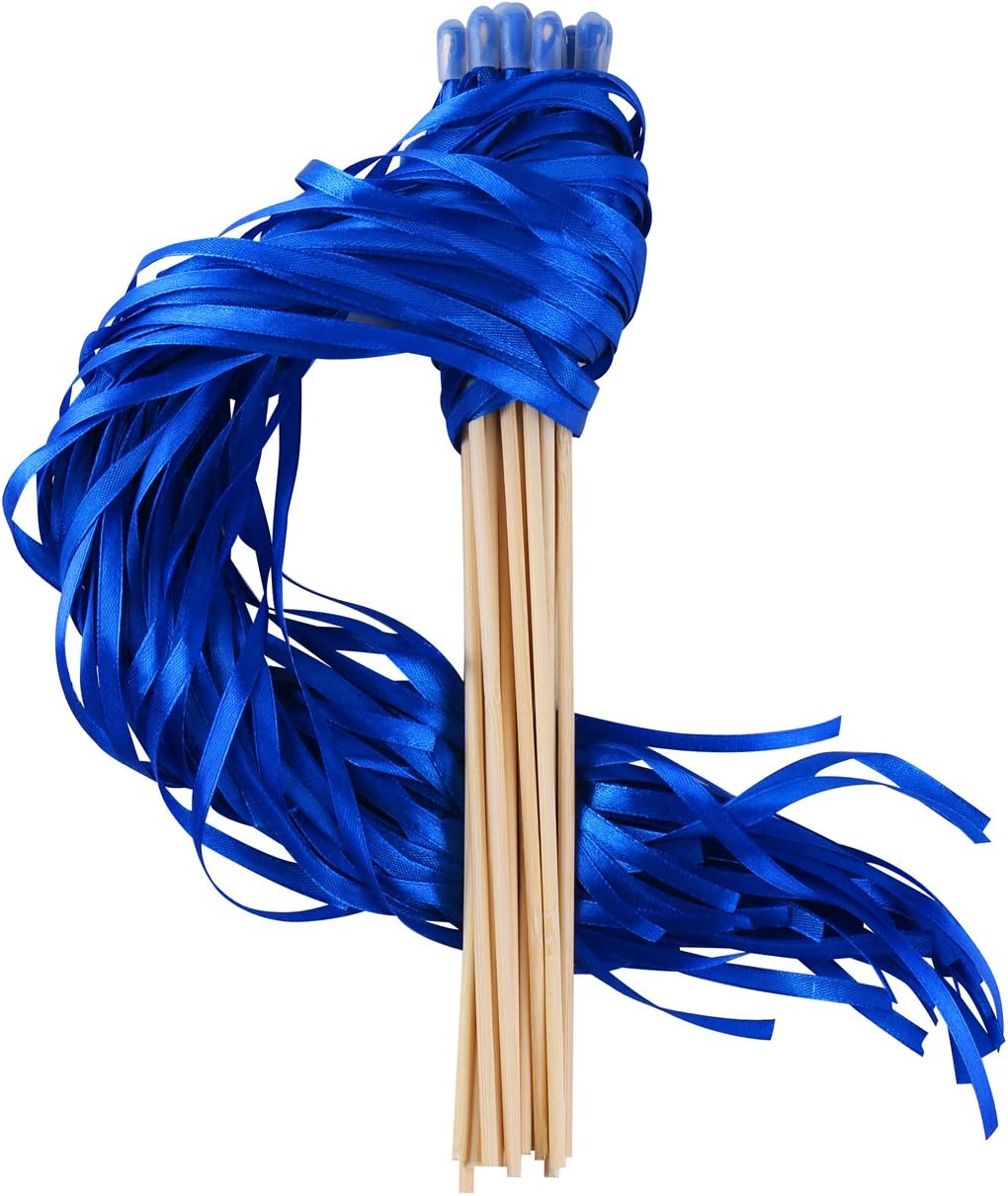 Wishprom Ribbon Wands Sticks Streamers Clearance SALE Limited [Alternative dealer] time for Wedding Party Favor