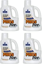Natural Chemistry 4 05121 Swimming Pool Spa PHOSfree Phosphate Remover - 3L Each