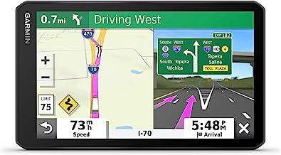 Garmin dezl OTR700, Navegador GPS de 7 pulgadas, Pantalla táctil fácil de leer, Enrutamiento personalizado de camiones y guía de carga a muelle, 7 pulgadas