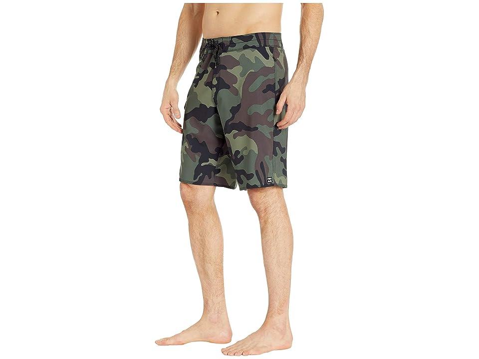 Billabong All Day Pro (Camo) Men's Swimwear, Multi