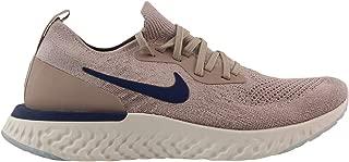 Nike Men's Epic React Flyknit Running Shoe (9, Cardinal/White/White)