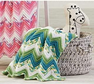 Herrschners Lily Pond Baby Blanket Yarn Kit