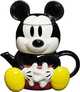 ディズニー ミッキーマウス ティーポット&カップ(1人用ティーセット) SAN1812