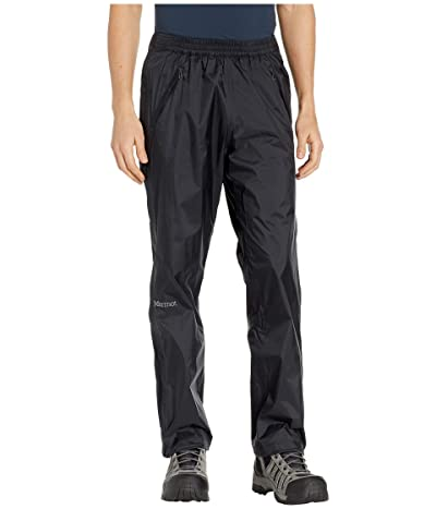 Marmot PreCip(r) Eco Full Zip Pants (Black) Men