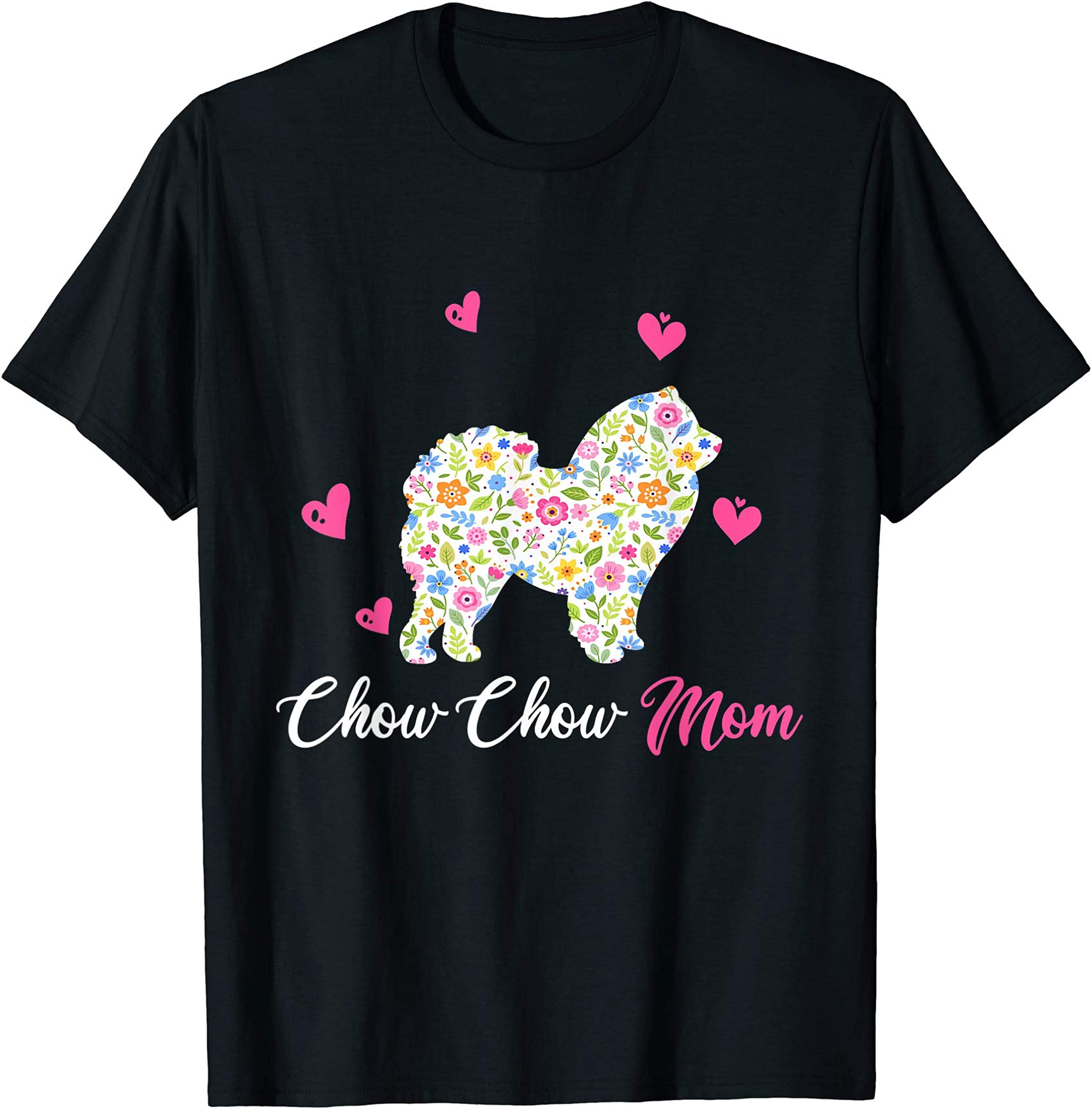 Chow Chow Mom Shirt For Dog Lovers Mothers Day