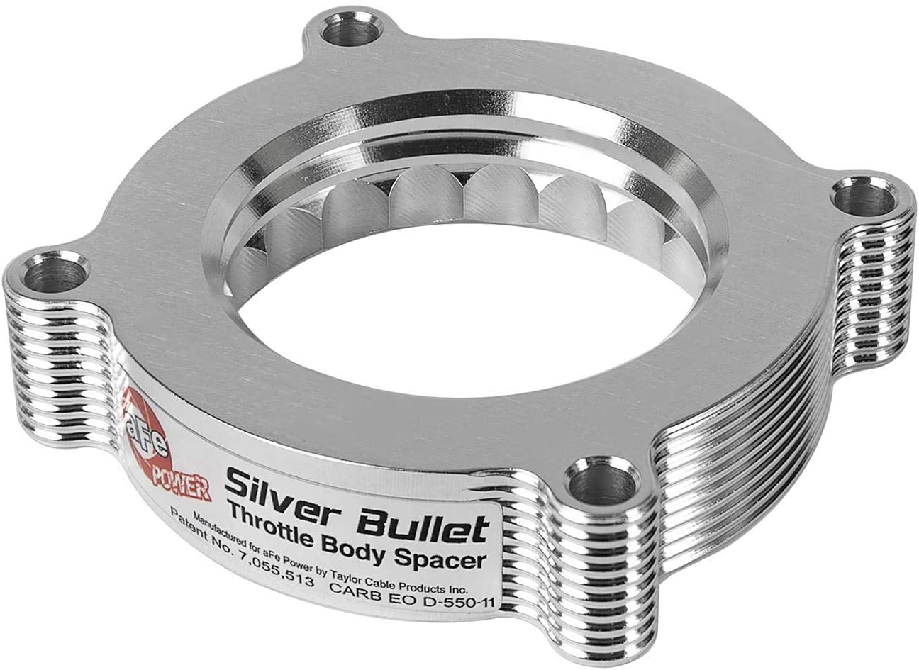 aFe Max 65% OFF Power Silver Free Shipping New Bullet 46-33011 Spacer Throttle Body Ford