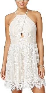 2b6302295 Trixxi Womens Lace Fit & Flare Dress