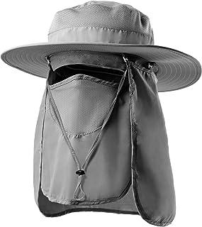 کلاه آفتابی Jogoo Fishing Hat کلاه آفتابی زنانه و مردانه ، کلاه آفتابگیر با UPF 50 ضد آفتاب و گردن