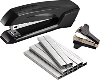 Bostitch Ascend 3 in 1 Stapler with Integrated Remover & Staple Storage, Value Pack with Staples & Remover, Assorted Colors (B210-CC)