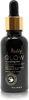 Muddy Body - Glow Skin Perfecting Elixir | 24K Gold to Lift, Moisturize, and Revitalize Face and Lips (1 fl oz)