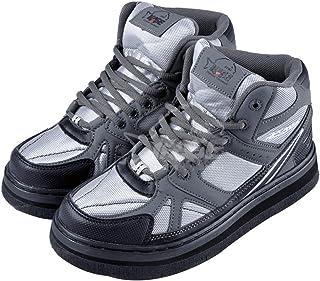 Willsky Chaussures Imperméables pour Hommes Pêche Pêche Bottes Solid Sole Soleil Nail Anti-Glissement pour La Pêche en Mer...