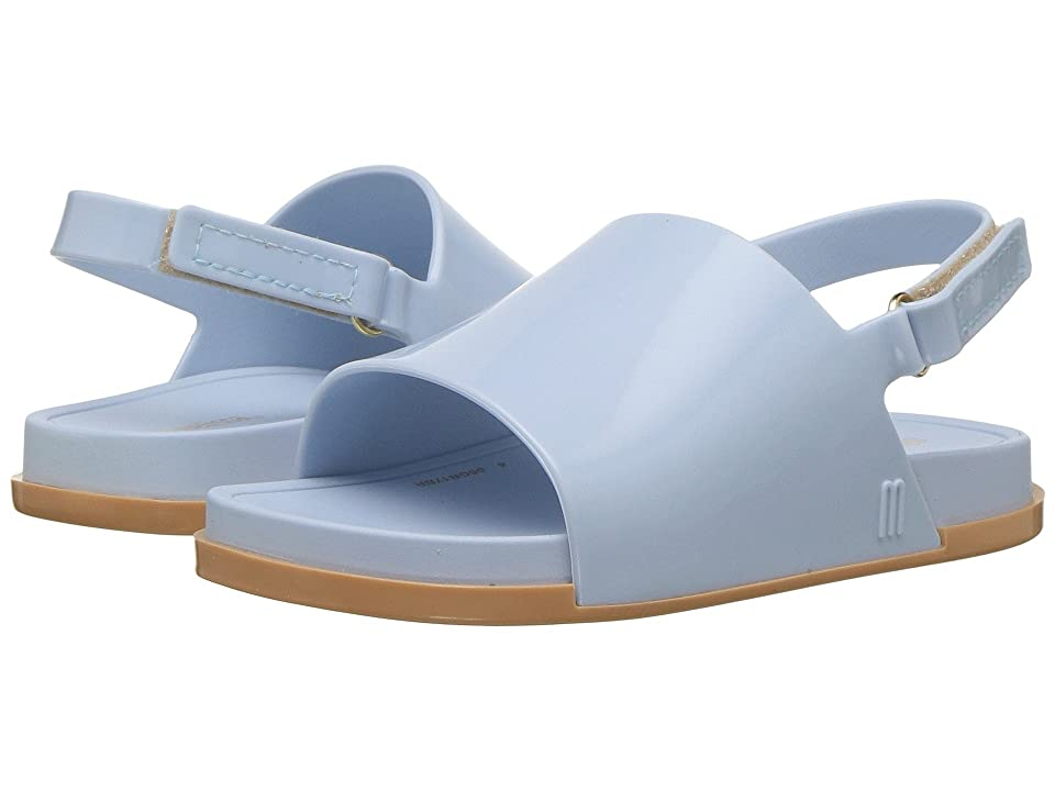 Mini Melissa Mini Beach Slide Sandal (Toddler/Little Kid) (Blue) Girls Shoes