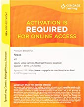 Premium Web Site, 4 terms (24 months) Printed Access Card for Long/ Carreira/Velasco/Swanson's Nexos, 4th