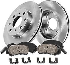 Callahan CRK02011 FRONT Premium 4 Lug Brake Rotors + Ceramic Pads + Hardware + Sensors [ Mini Cooper Coupe Clubman S ]