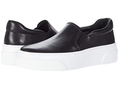 J/Slides Aileen (Black Leather) Women