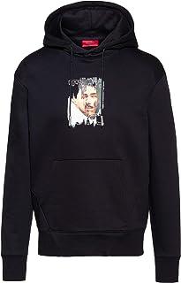 HUGO Men's Dendigo Hooded Sweatshirt