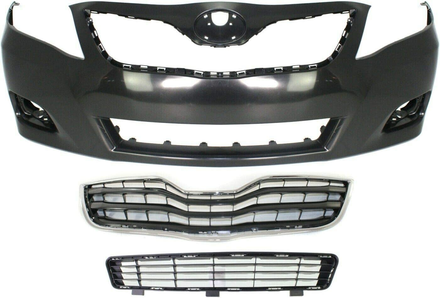 ASL Bumper Cover Kit Compatible Popular standard with 2010-2011 Mo New arrival LE Sedan Camry