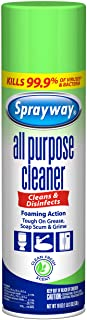 Sprayway SW5002R All PurposeDisinfectant Cleaner,Foaming Action, 19 Oz