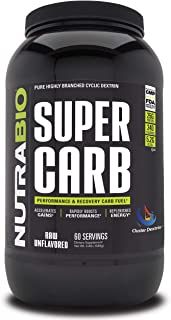 Sponsored Ad - NutraBio Super Carb (Unflavored, 60 Servings)