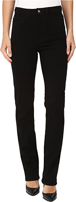 Suzanne Straight Leg/Love Denim in Black