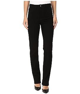 Suzanne Straight Leg/Love Denim in Black