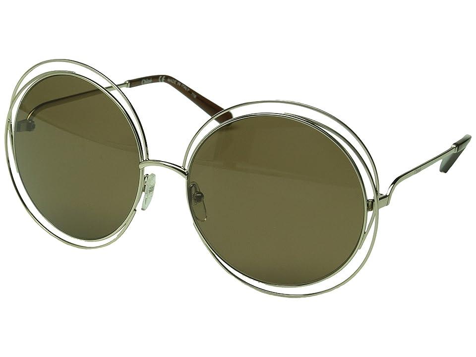 d5845bc6c4 UPC 883121980167 - Chloe Carlina Oversized Round Sunglasses ...