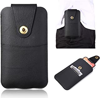 Phone Case bag Premium Vertical Genuine Leather Holster W Belt Loop,For Samsung Galaxy S20+ 5G,S20 Ultra,Note20, Note20 Ul...