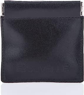 Genuine Leather Zipper Coin Purse Men Coin Pouch Change Holder