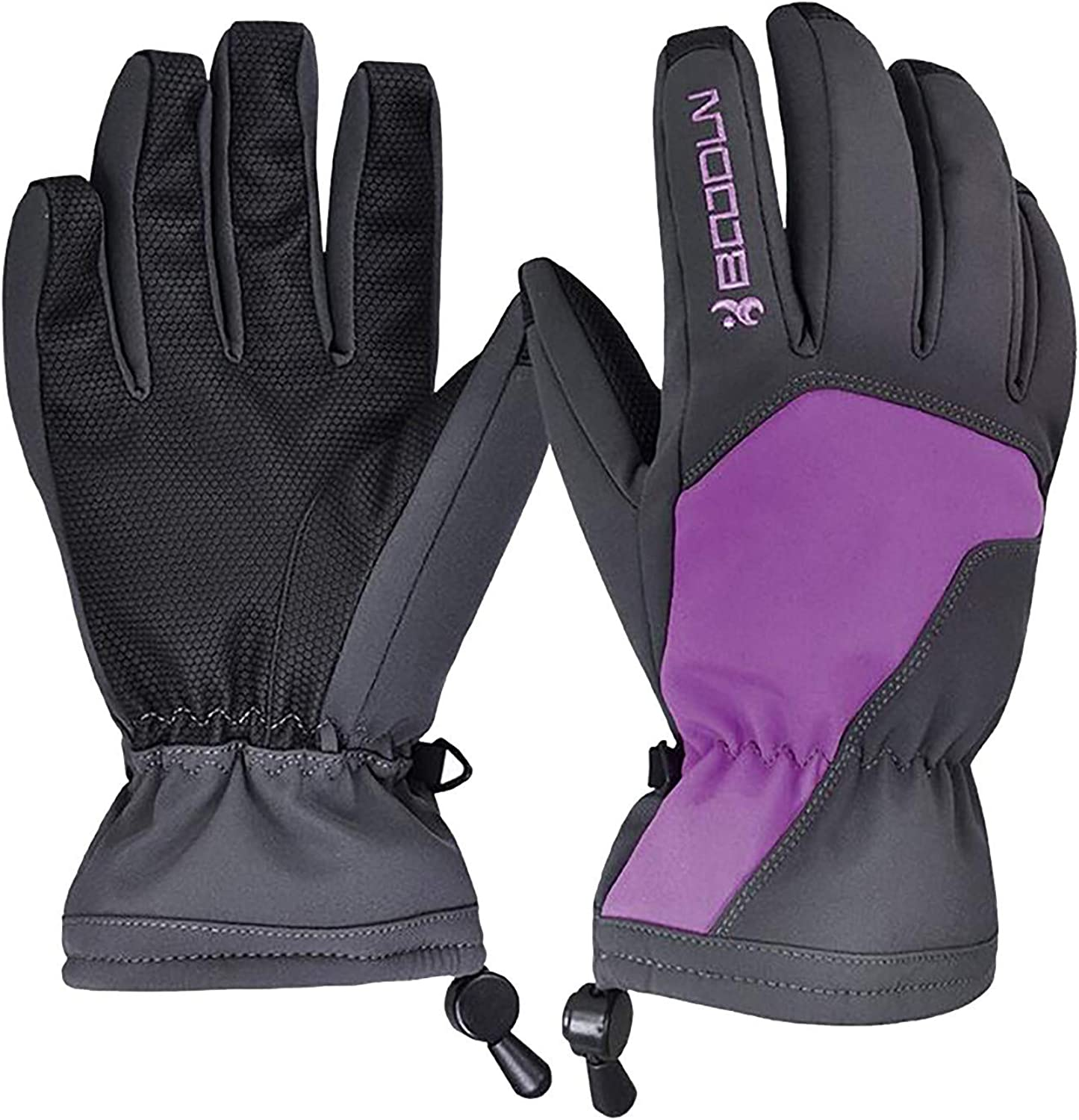 Men Winter Thermal Gloves for Riding Ski Gloves Mountaineering Motorcycle Windproof Waterproof Warm Gloves