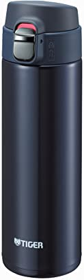 タイガー 水筒 480ml 直飲み ステンレス ミニ ボトル サハラ マグ 軽量 夢重力 ブルーブラック MMJ-A048-KA Tiger
