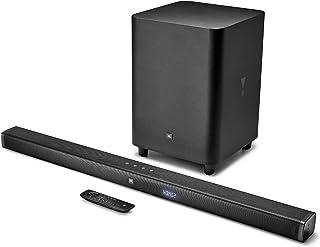 JBL Bar 3.1 - TV-soundbarluidspreker met draadloze subwoofer en JBL Surround Sound, in zwart