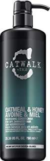 Tigi Catwalk Oatmeal and Honey Nourishing Conditioner for Unisex, 25.36 Ounce