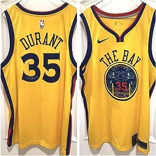 c78df4aa Kevin Durant Autographed Signed Warriors The Bay Swingman Jersey Memorabilia  JSA Loa