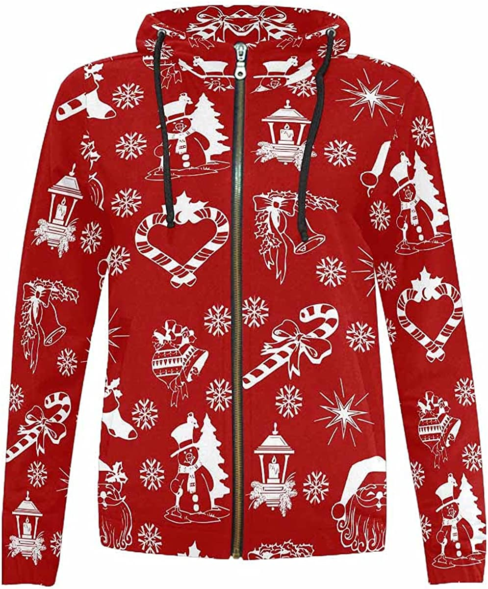 InterestPrint Christmas Reindeer Outlet SALE and Leafs Don't miss the campaign Jac Girls Hooded Boys
