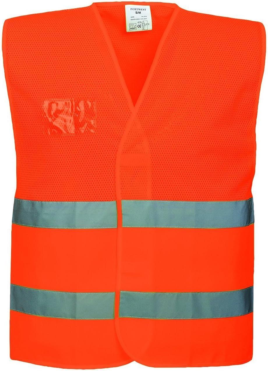 Portwest Sicherheitsweste Aus Mesh Gewebe Normale Passform Hohe Sichtbarkeit Xx Large 3x Large Orange 1 Bei Günstiger Preis Kostenloser Versand Ab 29 Für Ausgewählte Artikel