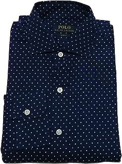 (ポロ ラルフローレン) 長袖 ワイドカラーシャツ ネイビー Polo Ralph Lauren 609 [並行輸入品]